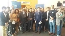Les députés européens Maurice Ponga et Younous Omarjee.